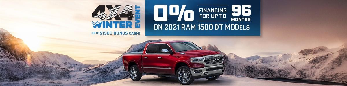 RAM Discount Offers at Dodge City Auto in Saskatoon
